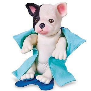 Coleção Baby Pet Filhotinho - Hora do Banho - Bulldog - Roma