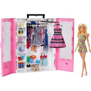 Boneca Barbie Closet de Luxo - Mattel