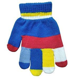 Kit Com 2 Luvas Coloridas Infantil