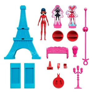 Playset De Ação Torre Eiffel Miraculous - Ladybug