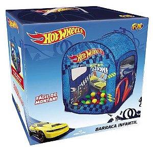 Barraca Infantil com 50 Bolinhas Hot Wheels - Fun