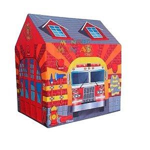 Barraca Infantil Estação Bombeiros - Dm Toys
