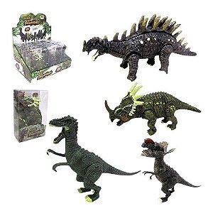 Kit Com 2 Mundo Dinossauro Sortidos - Dm Toys