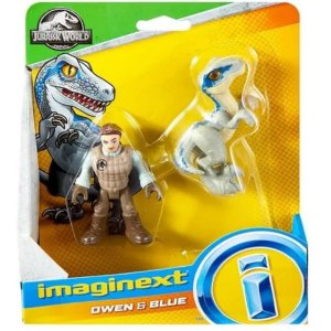 Imaginext Owen & Blue - Mattel