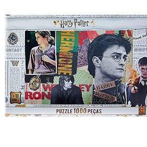 Quebra-Cabeça Harry Potter 1000Pçs - Grow