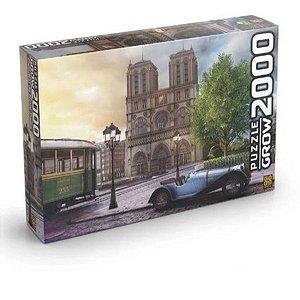 Quebra-Cabeça Catedral De Notre-Dame 2000pçs - Grow