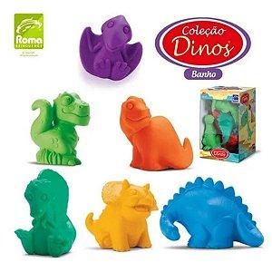 Coleção Bichinhos - Dino Para Banho - Roma