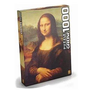 Quebra-Cabeça Monalisa 1000 peças- Grow