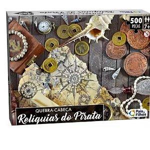 Quebra-Cabeça Reliquias Do Pirata 500pçs - Pais e Filhos