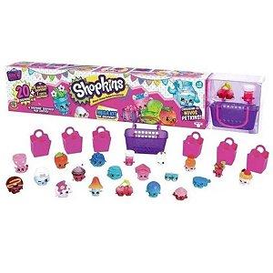 Shopkins Serie 4 - Mega Kit Com 20 Shopkins Surpresas - Dtc