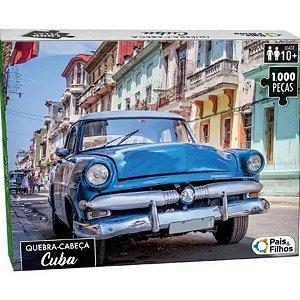 Quebra-Cabeça Cuba 1000Peças- Pais e Filhos