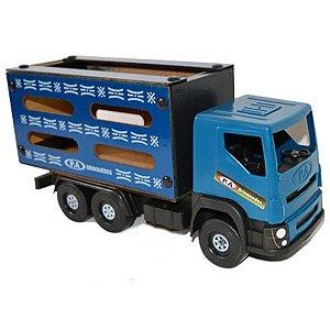 Caminhão De Madeira Boiadeiro Médio - P.A Brinquedos