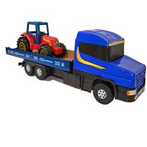 Caminhão Tradicional Com Trator - P.A Brinquedos