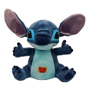 Pelúcia Stitch Disney Lilo & Stitch Com Som 30cm - Multikids