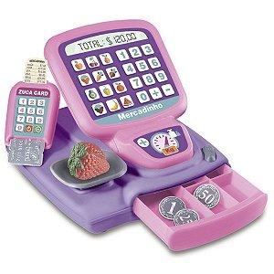 Caixa Registradora Minhas Comprinhas - Zuca Toys