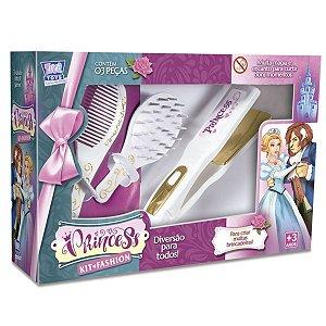 Kit Princesa Fashion Chapinha E Acessórios - Zuca Toys