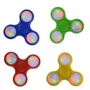3 hand Spinner Anti Stress com luz  Candide  Fidget toy sort