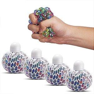 2 Squishy Mesh Ball Slime Bola Anti Stress Fidget toy