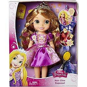 Boneca Princesa Rapunzel Canta Cabelos Brilhantes Disney