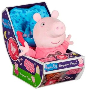 Peppa Pig Pelúcia Hora De Dormir Com Luz E Som - Sunny