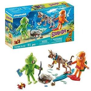 Playmobil Scooby-Doo Aventura Com Fantasma Pçs- Sunny