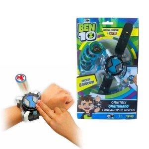Ben 10 Omnitrix Omnitunado Lançador De Disco - Sunny