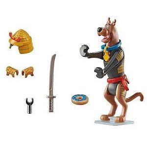Playmobil Scooby-Doo Samurai Figura Colecionável 12Pçs- Sunny