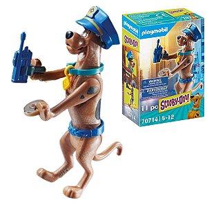 Playmobil Scooby-Doo Policial Figura Colecionável 11Pçs- Sunny
