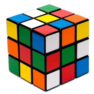 Cubo Mágico Colorido 3x3x3 Fidget Toys Simples