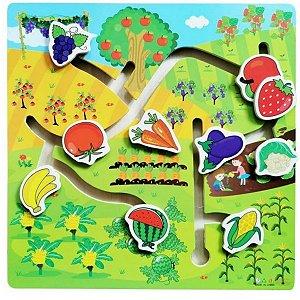 Aprenda Brincando Frutas e Legumes- Dm Toy