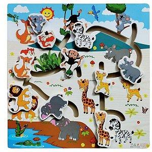 Aprenda Brincando Animais da Floresta - Dm Toy