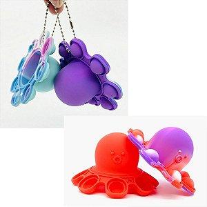 Fidget Toys Chaveiro Polvo Pos Bolha