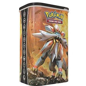 Lata Porta Cartas Pokémon Solgaleo - Copag