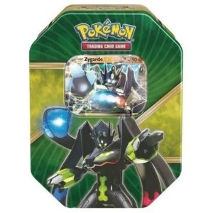 Pokémon Card Lata Zygarde Ex Kalos Brilhante - Copag