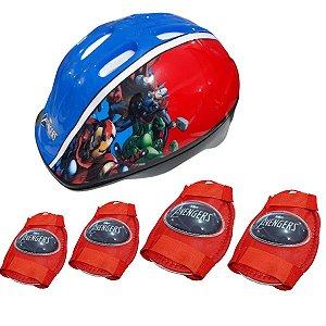 Kit De Proteção Vingadores - Multikids