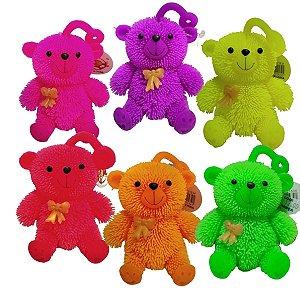 Fidget Toys Mini Ursinho De Apertar Com luz