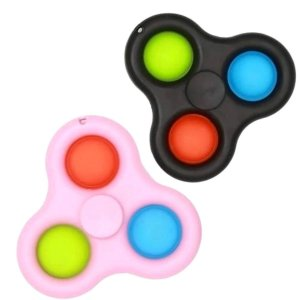 Fidget Toys Chaveiro Simple Dimple Spinner