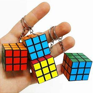 Fidget Toys Chaveiro De Cubo Mágico