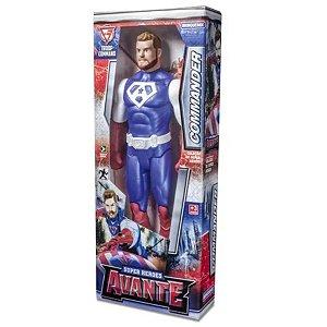 Boneco De Ação Commander Super Heroes Avante Brinquemix