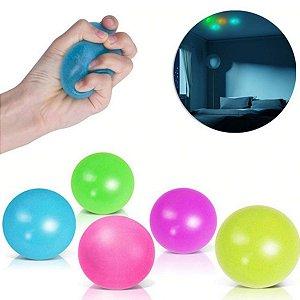 Fidget Toys Bolinha Neon Fluorescente