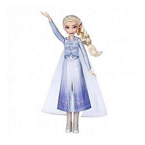 Boneca Elsa Singing Da Frozen 2 Lançamento - Hasbro