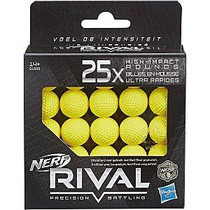 Refil Nerf Rival 25 Projéteis  - Hasbro