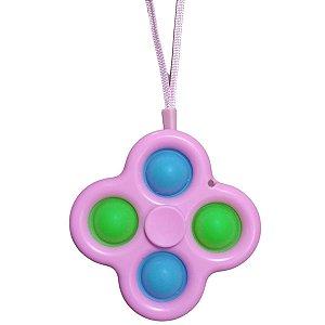 Fidget Toys Chaveiro Pop It Spinner