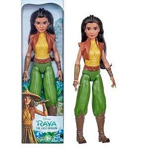 Boneca Princesa Raya E O Ultimo Dragão Disney - Hasbro