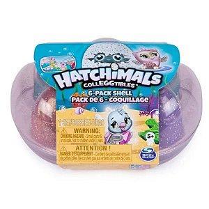 Hatchimals Colleggtibles Blister Conchinhas 6 Ovos - Série 5 - Sunny