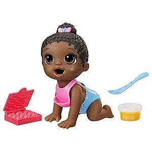 Boneca Baby Alive - Hora Da Papinha - Negra - Hasbro