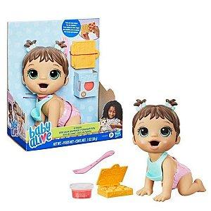 Boneca Baby Alive - Hora Da Papinha - Morena - Hasbro