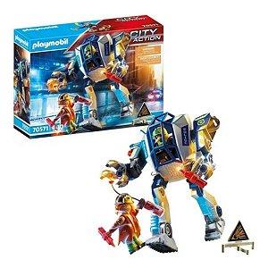 Playmobil Robô Operações Especiais City Action 50 Pçs 70571- Sunny