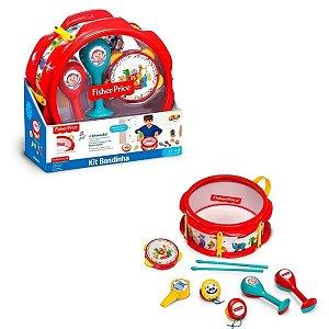 Kit Bandinha Músical Fisher-price Infantil - Fun