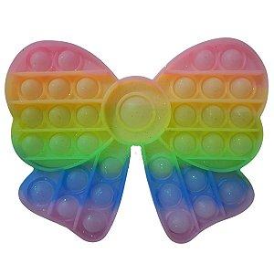 Fidget Toys Pop It Candy Color Com Glitter